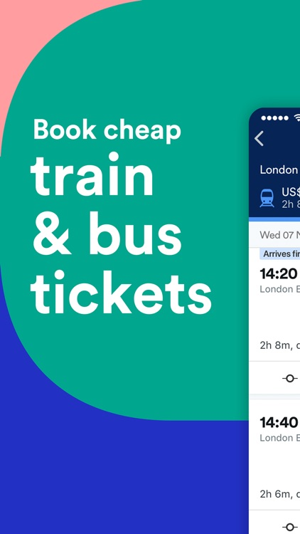 Trainline: Buy Train Tickets screenshot-0