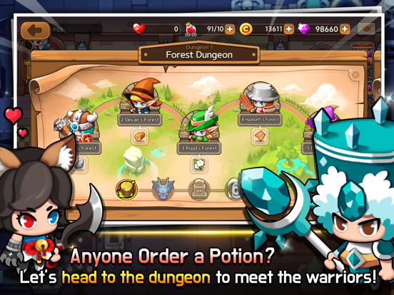 Dungeon Delivery screenshot 9