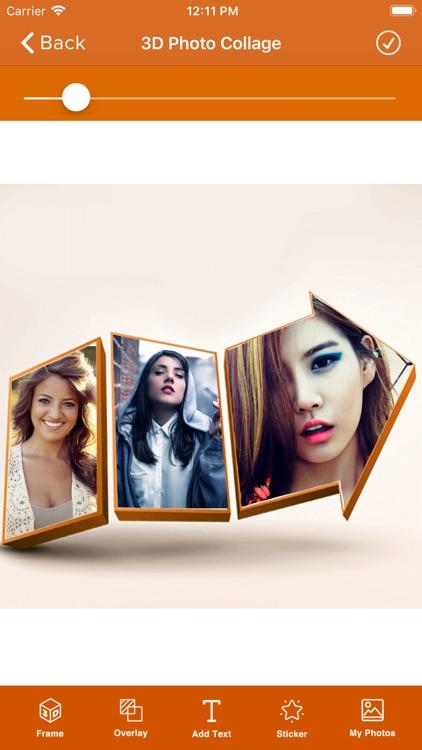 3D Photo Frame Editor