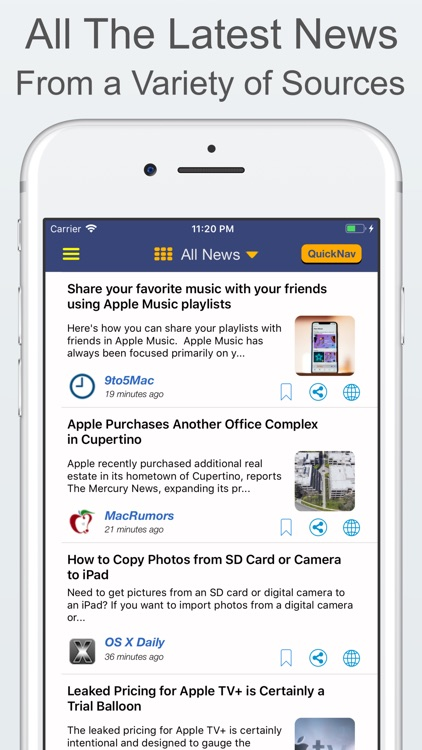 Clarus - For Apple-World News