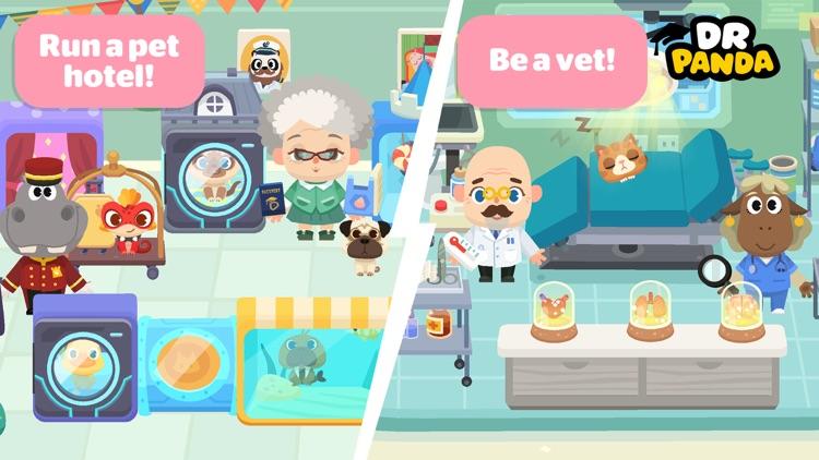 Dr. Panda Town: Pet World screenshot-3