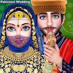 Pakistani Muslim Wedding Girl