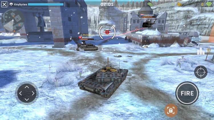 Massive Warfare: Tank War Game screenshot-7
