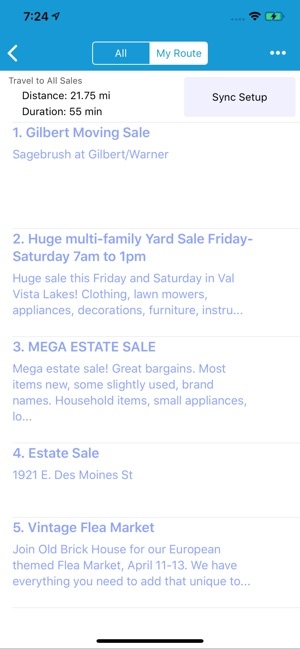 Yard Sale Treasure Map on the App Store