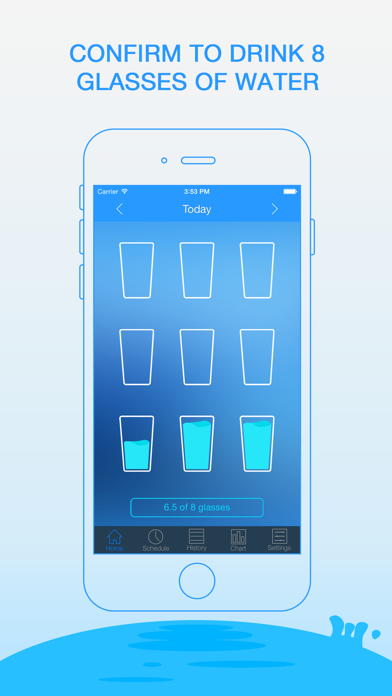 Daily Water Free - Water Reminder and Counter screenshot
