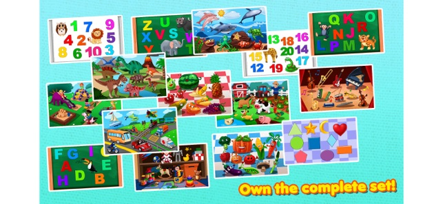 Awesome Shape Puzzles 123 Lite