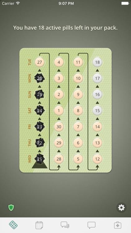 myPill® Birth Control Reminder screenshot-0
