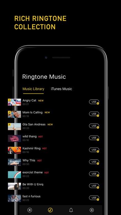 Ringtones + screenshot two