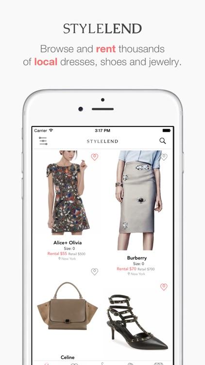 Style Lend: Lend Your Closet