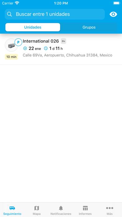 GPSmonitorCaptura de pantalla de1