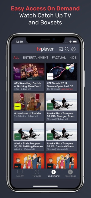 TVPlayer on the App Store