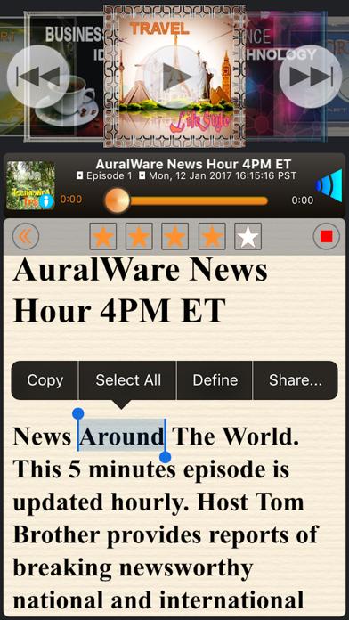 Podcast Live! screenshot two