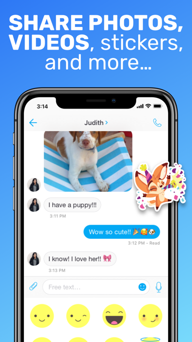 Text Me - Phone Call + Texting app image