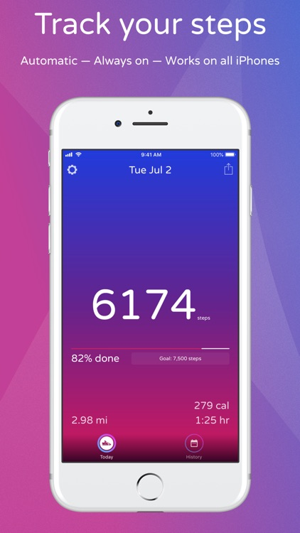 Steps - Activity Tracker screenshot-0