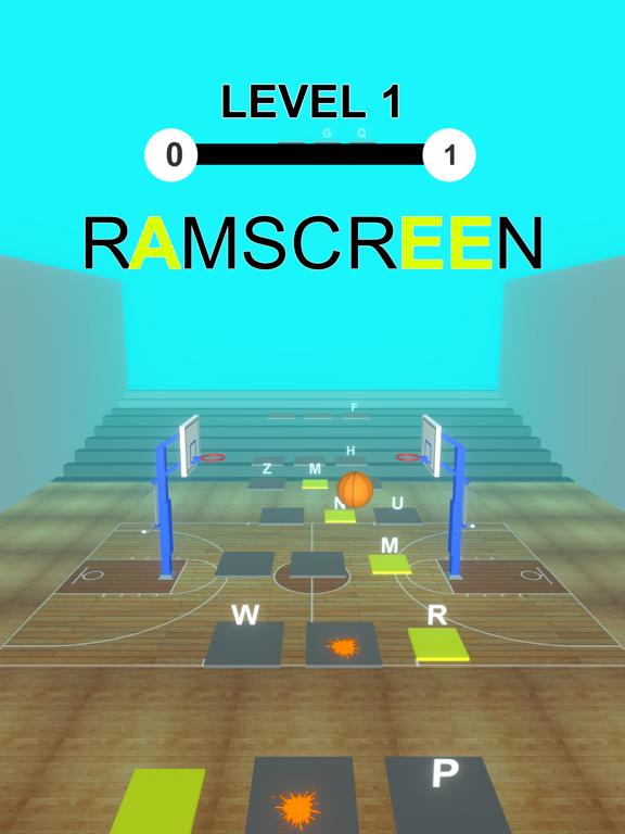 Basket Ball Hop: Word Dribble screenshot 5