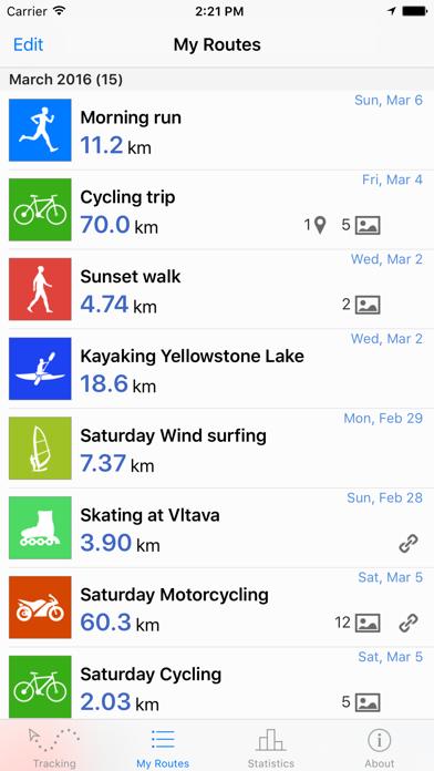 Routie ~ GPS sports trackerのおすすめ画像3