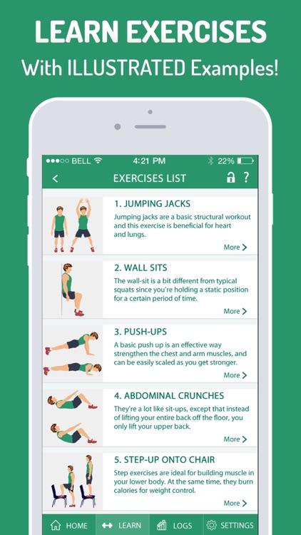 7 Minutes Workout & Exercises