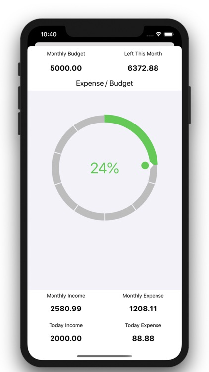 Daily Expense-Spending Tracker