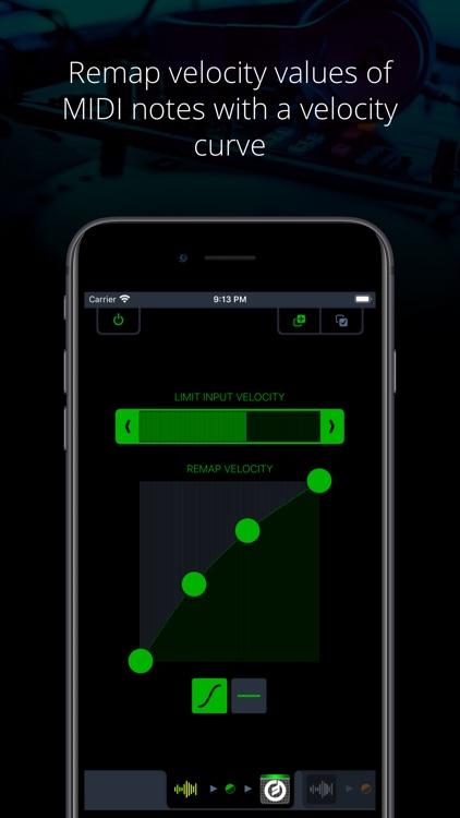 Midiflow Limiter (Audiobus)