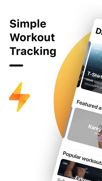 Bolt - Weight Lifting Journal screenshot-7