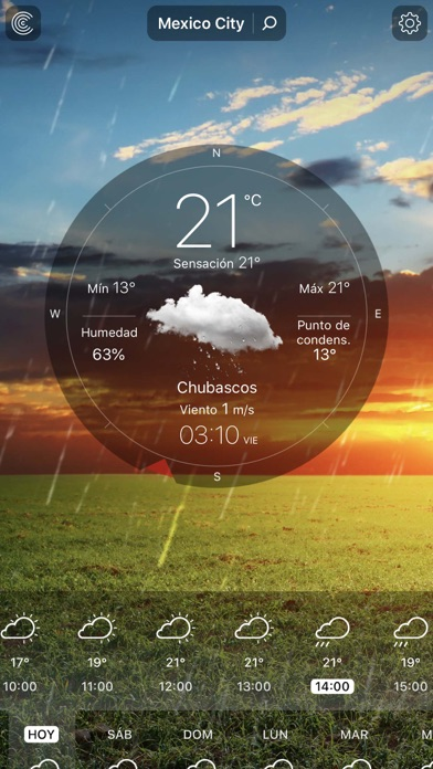 Screenshot for Tiempo En Vivo - Pronóstico in Peru App Store