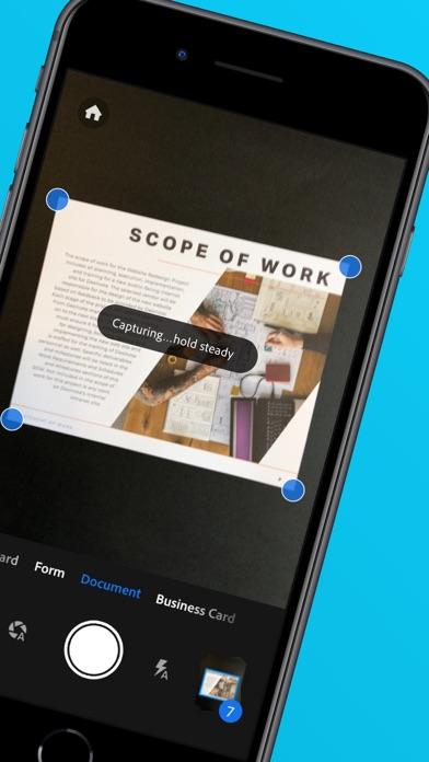 Adobe Scan: OCR付PDFスキャンカメラのおすすめ画像2