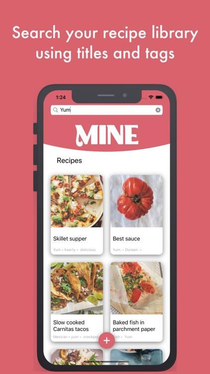 MINE Recipes screenshot-3