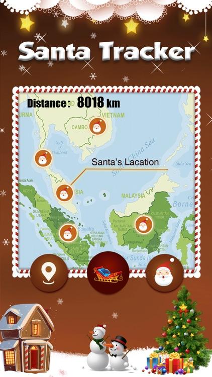 Santa Tracker - catch santa