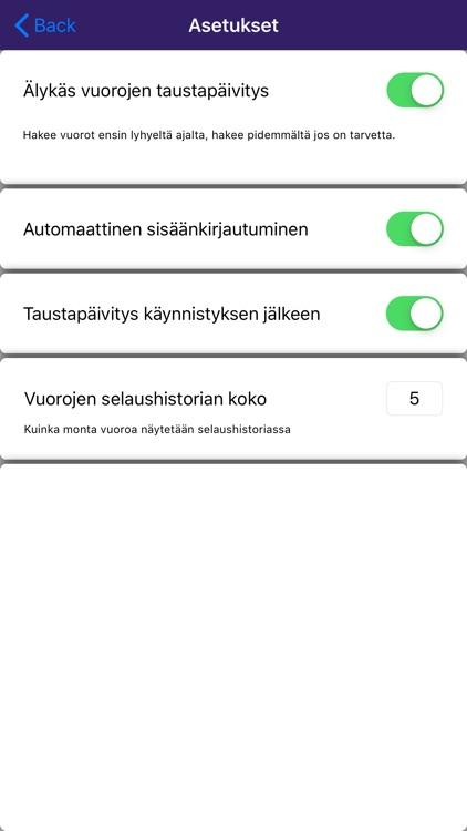 VuoroNet screenshot-3