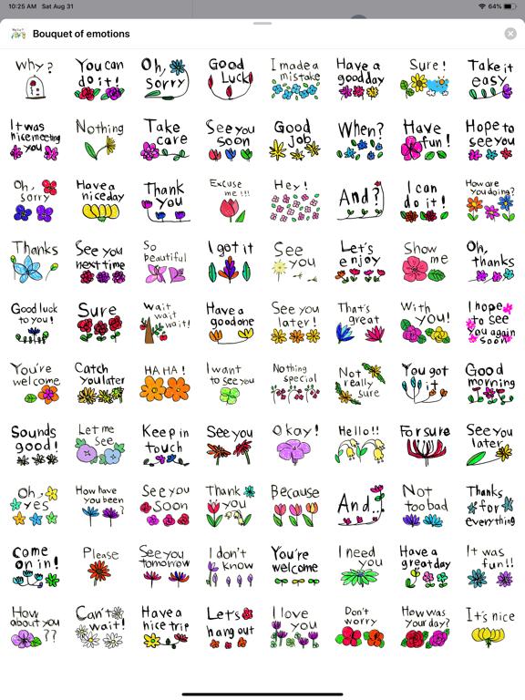 Bouquet of emotions screenshot 7