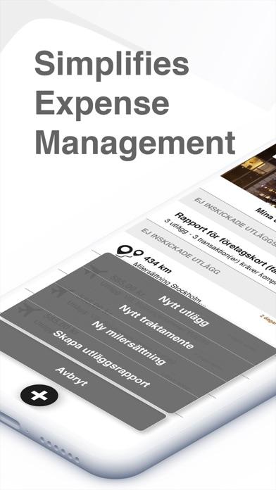 Visma PX Expense screenshot one