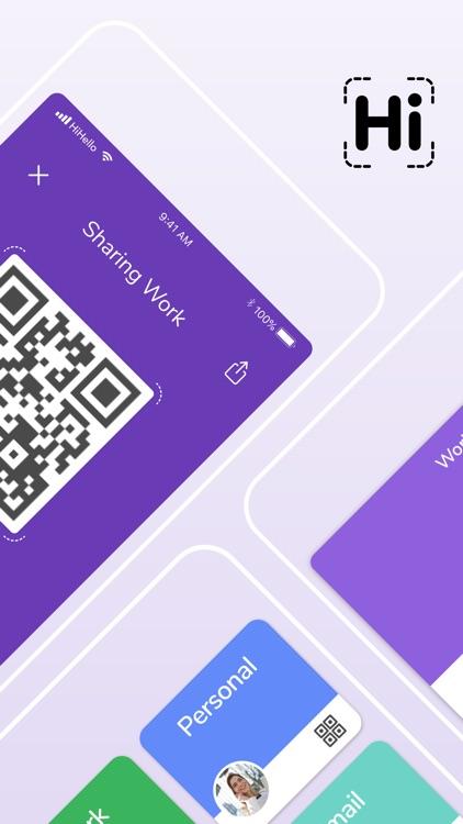 HiHello: Contact Exchange screenshot-6