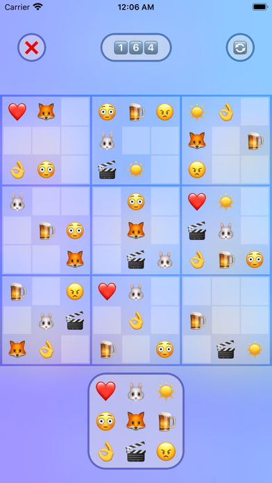 Jan's Emoji Sudoku screenshot 2
