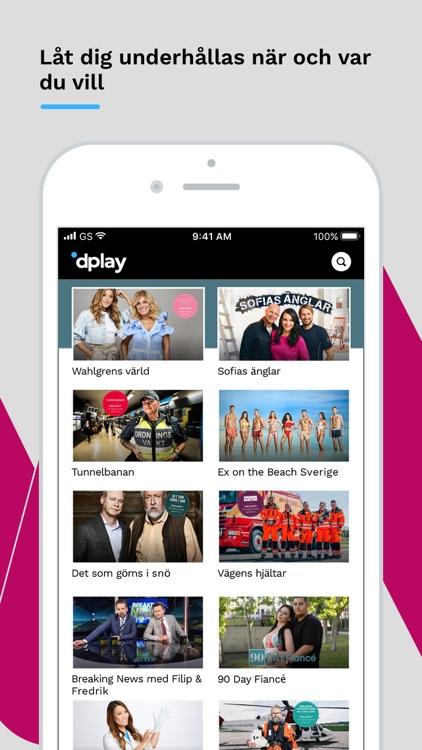 dplay – TV, serier och esport screenshot-3