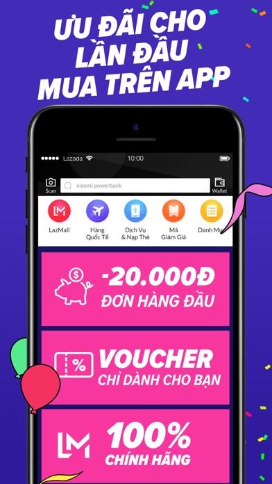 Screenshot for Siêu Sinh Nhật Lazada 27-29.03 in Viet Nam App Store