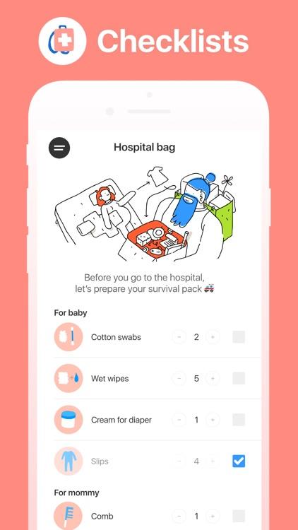 Hello Belly: Pregnancy Tracker screenshot-8