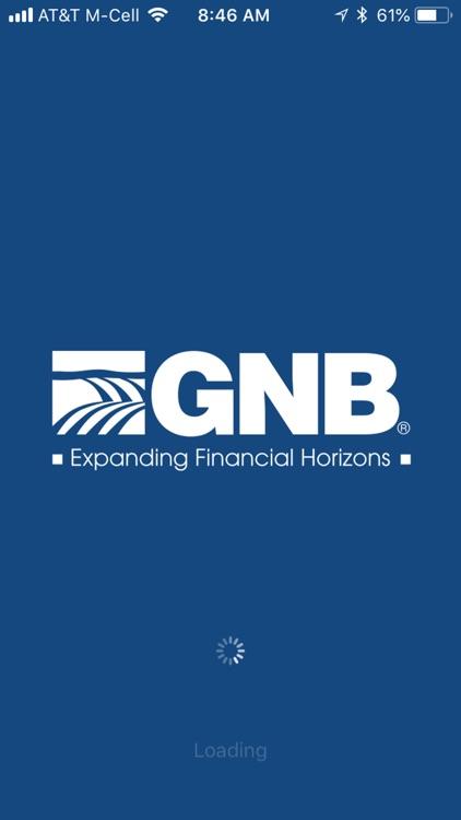 GNB Bank credit card app