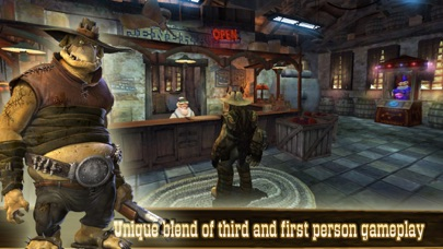 Screenshot from Oddworld: Stranger's Wrath