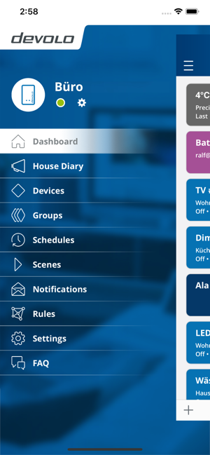 ‎devolo Home Control Screenshot