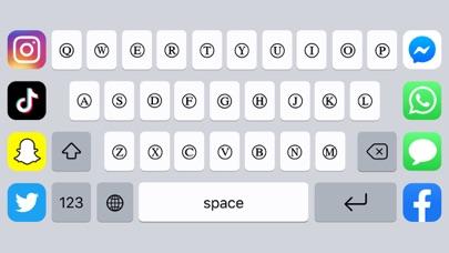 Fontbot: Custom fonts keyboard screenshot 3