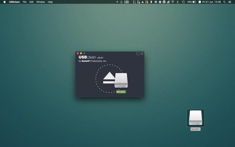 USBclean for Mac