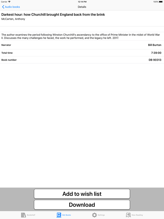 BARD Mobile iPad