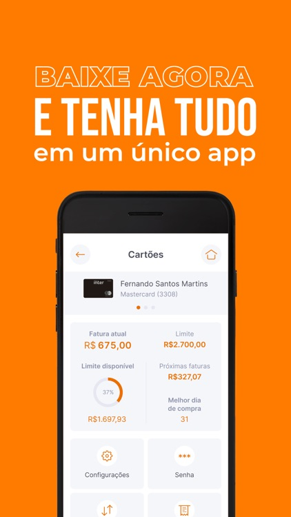 Banco Inter – digital banking screenshot-4