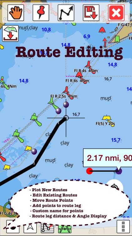 Fishing GPS: Marine Navigation screenshot-6