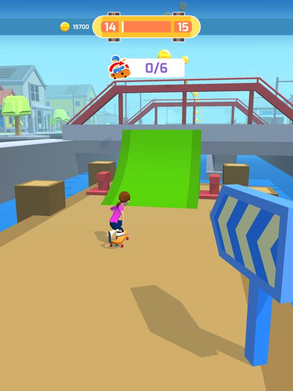 Skater Race screenshot 12