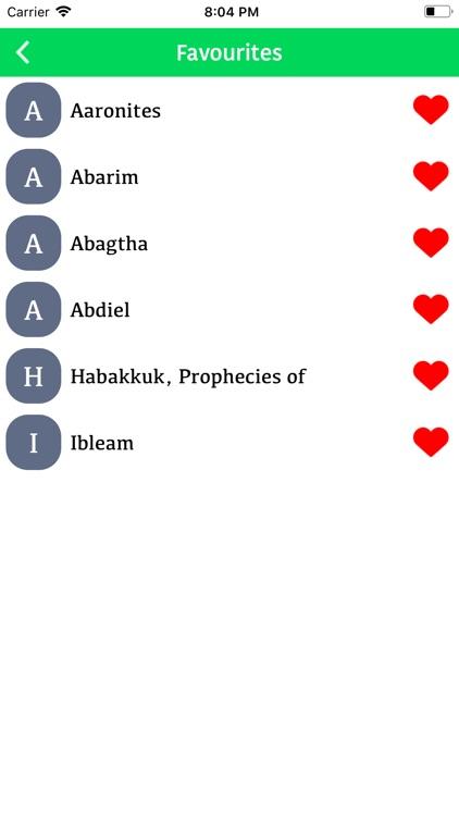 Bible Dictionary® screenshot-3