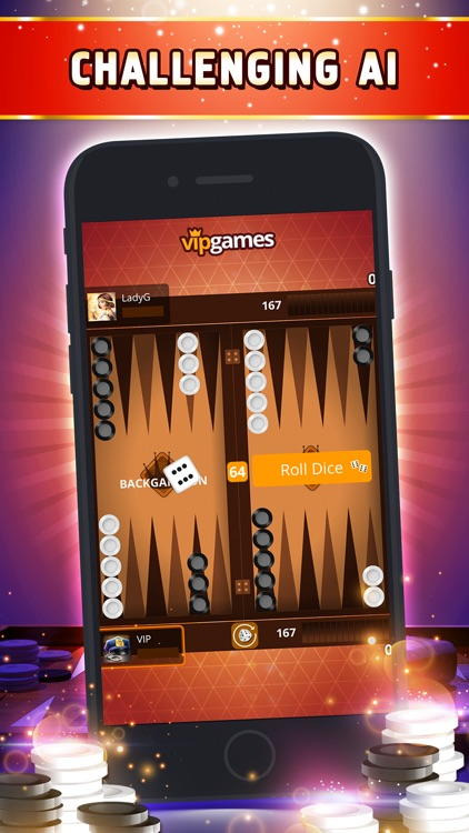 VIP Backgammon - Board Game