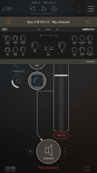 Скриншот №6 к AUM - Audio Mixer