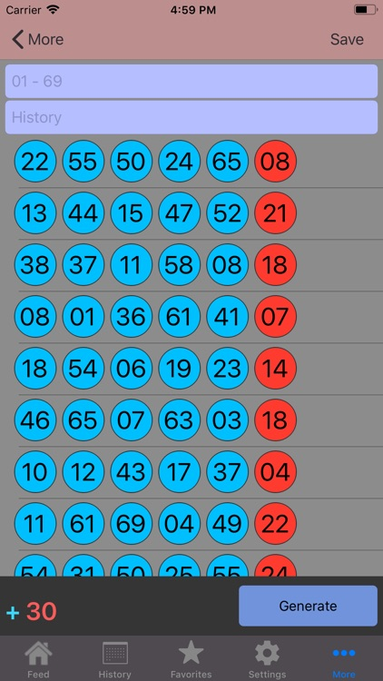 Lottery Box - Lotto Manager screenshot-5