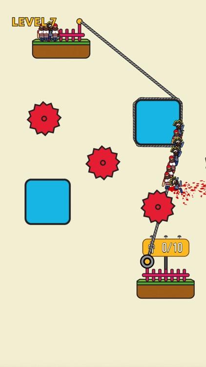 Rope Rescue! - Unique Puzzle screenshot-0